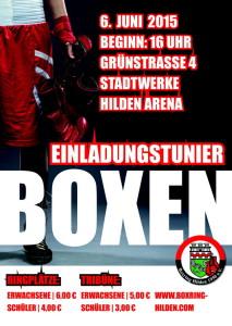 Plakat Boxring Hilden 6 Juni600