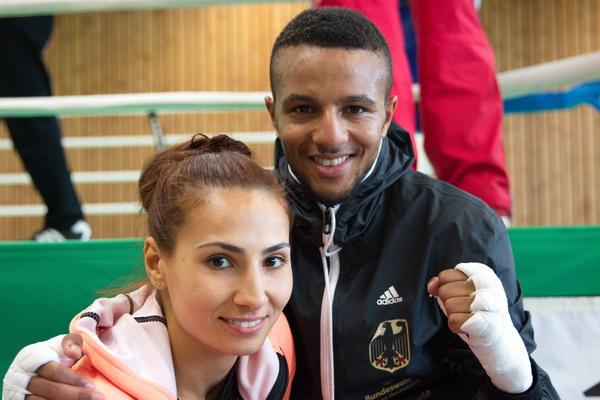 Ehepaar Pinar und Hamza Touba träumen gemeinsam von Olympia