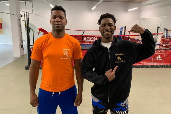 Kubaner Pero und Scull unterschreiben bei Wiking Boxteam