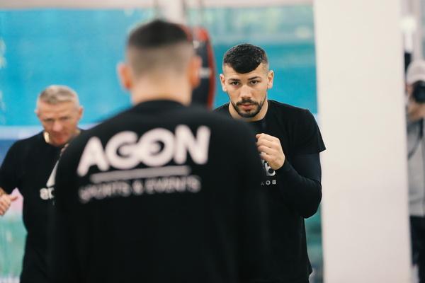 Vor Corona - Vincenzo Gualtieri im AGON Gym